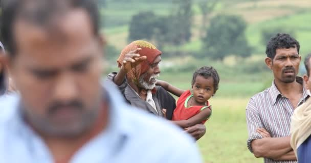 Tribal Father with child Araku valley Andhra Pradesh India