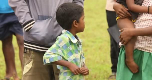 Tribal Childrens watching Araku Valley Andhra Pradesh India 25th March 2019