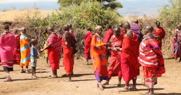 masai-stämme in kenia-afrika 26. aug 2019