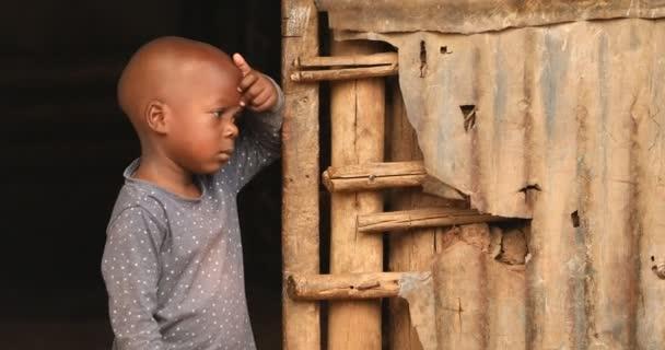 Children in a Slum Area Nairobi Kenya Africa 6th May 2019