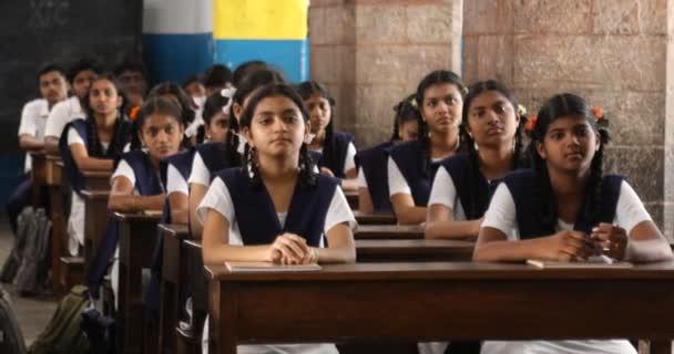 Studentka v třídní místnosti 3. června 2019 Hyderabad India