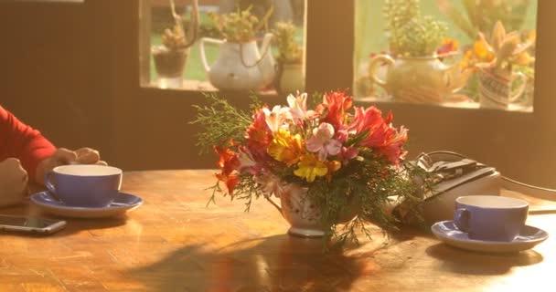 Tea Cups on the Table