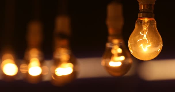 Old model Bulb at night