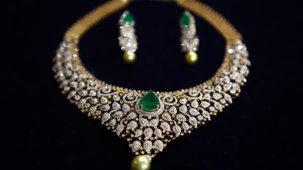 Zlaté šperky střílet ve funkci Hyderabad Indie
