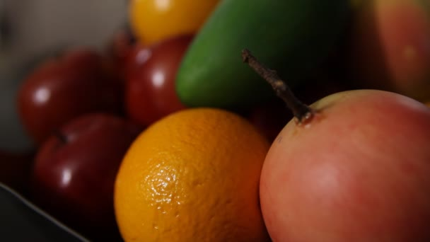 Different Indian Fruits in the Bowl