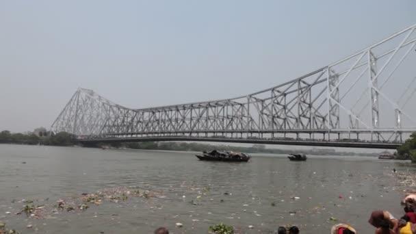 Howrah Bridge, Kalkata, Západní Bengálsko Indie