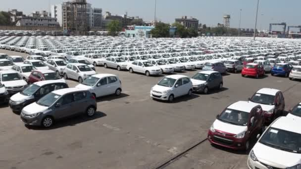 Cars at Harbor for Export