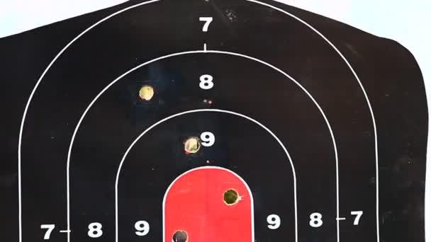 Zielscheibe für Schießübungen