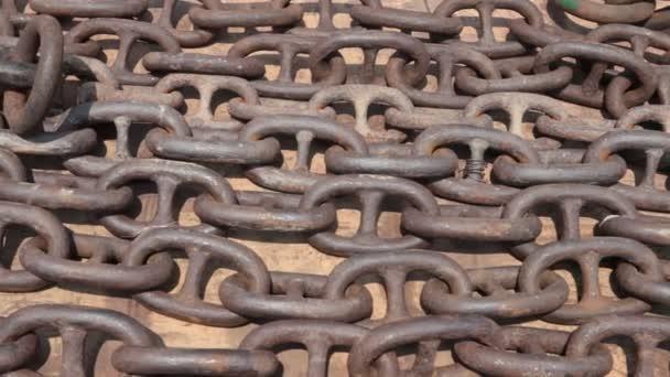 Makro s kovovým řetězcem