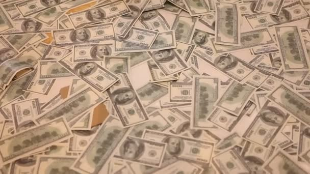 American Currency Dollars close up
