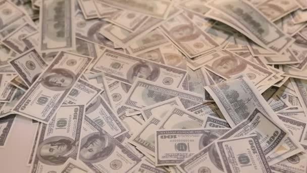 Americké měny dolary close up
