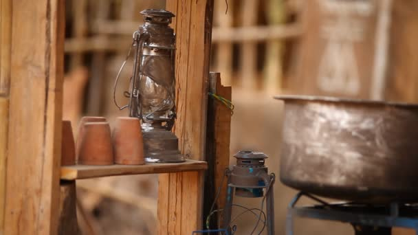 Régi Lámpás a vidéki otthonban
