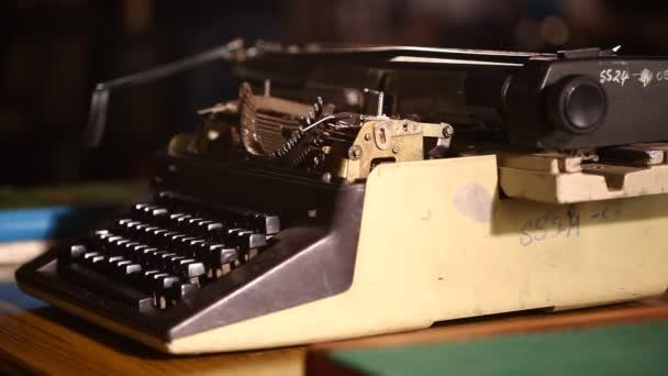 Vintage Manuelle Schreibmaschine Nahaufnahme