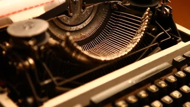 Vintage Manual Typewriter closeup