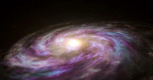 Výzkum vesmíru - let nad galaxie Mléčné dráhy. Cestování přes hvězdy a vesmír.