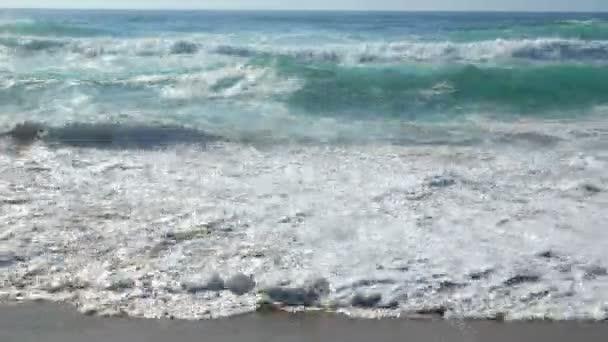 Ocean waves beach water