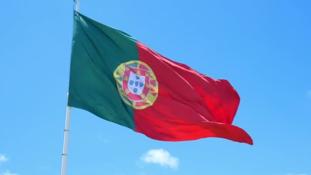 Zászló Portugália szél