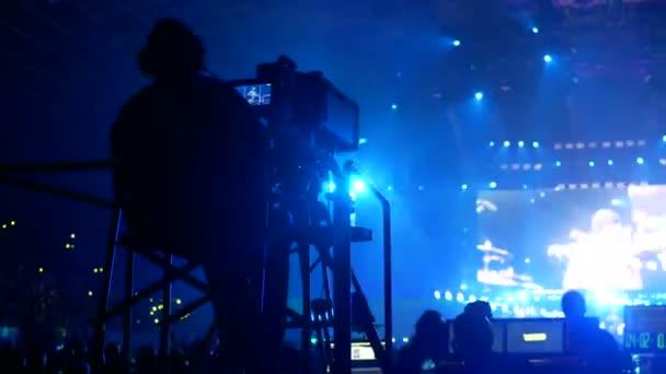 Video camerman concert
