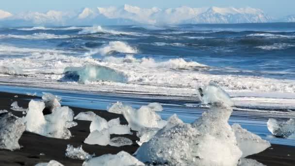 Ocean winter ice sun