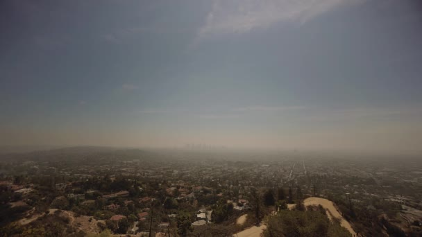 Los Angeles-i város a Griffith Park Observatory