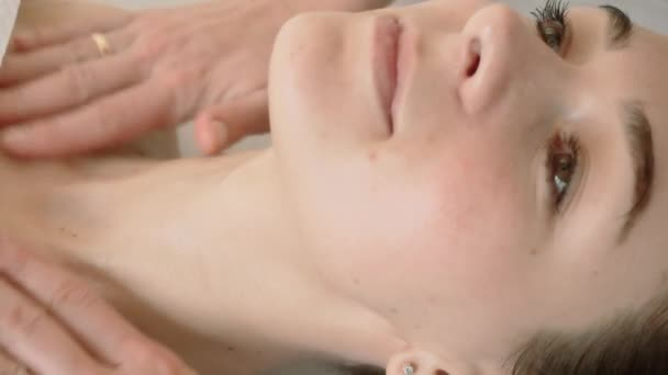 Spa facial Massage in beauty spa salon. Beauty Treatments. Body care, skin care, wellness, wellbeing, beauty treatment. Close up
