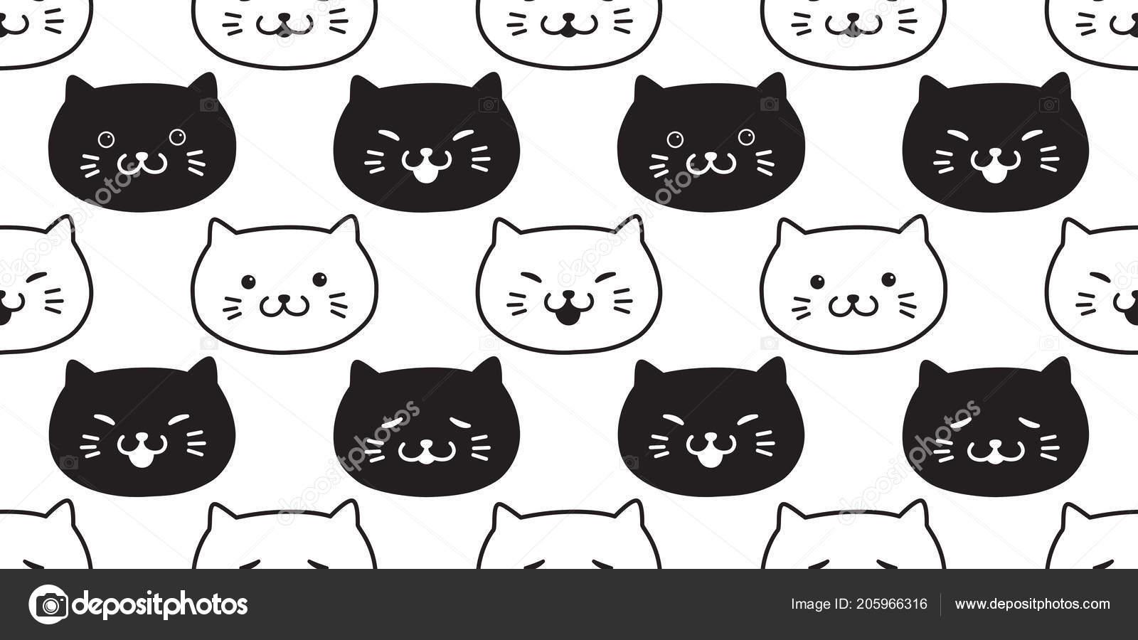 Černá kočička hd