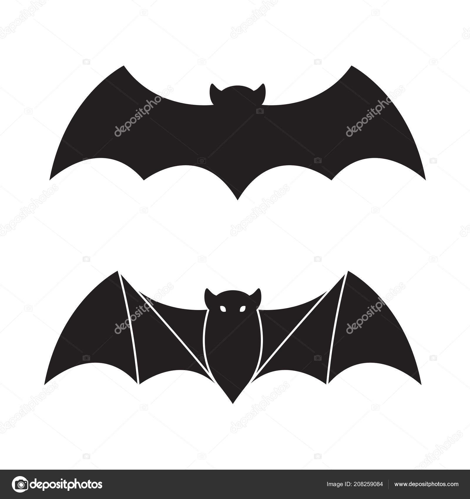 Bat Vector Halloween Icon Logo Illustration Cartoon Character