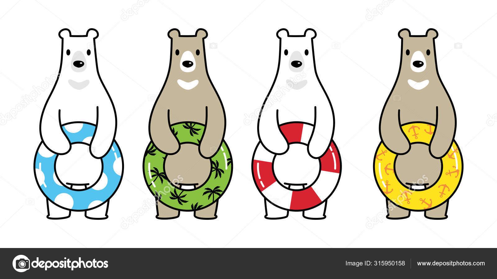 Polar Bear Swimming Stock Illustrations – 172 Polar Bear Swimming Stock  Illustrations, Vectors & Clipart - Dreamstime
