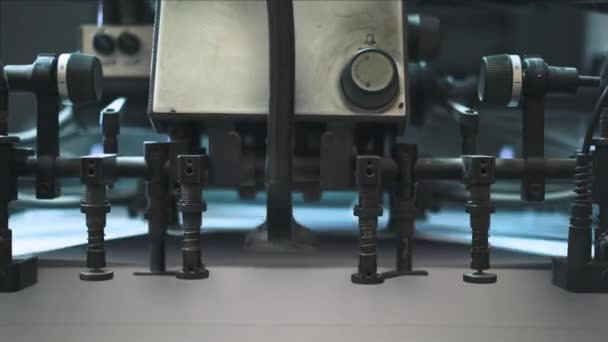 Industrial printer working process