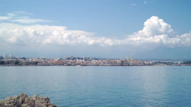 Panorama z francouzské luxusní letoviska Nice