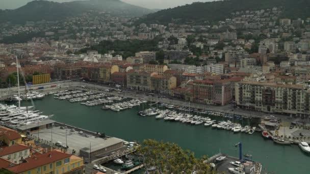 Bloccato il colpo del porto di Nizza, Francia in primavera