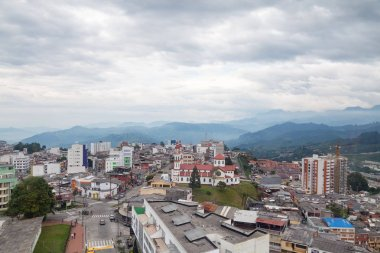 View of Manizales, colombia.
