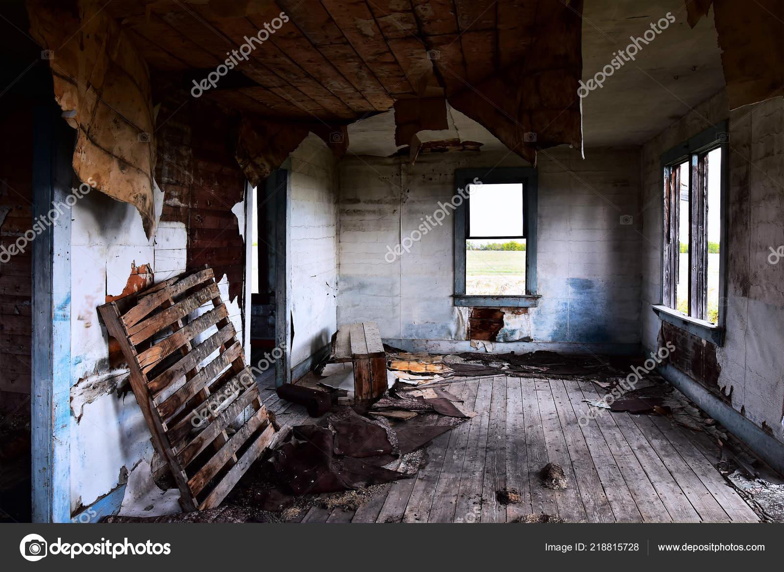 Image Interior Creepy Old Abandoned House Stock Photo C Shutterbug68 218815728