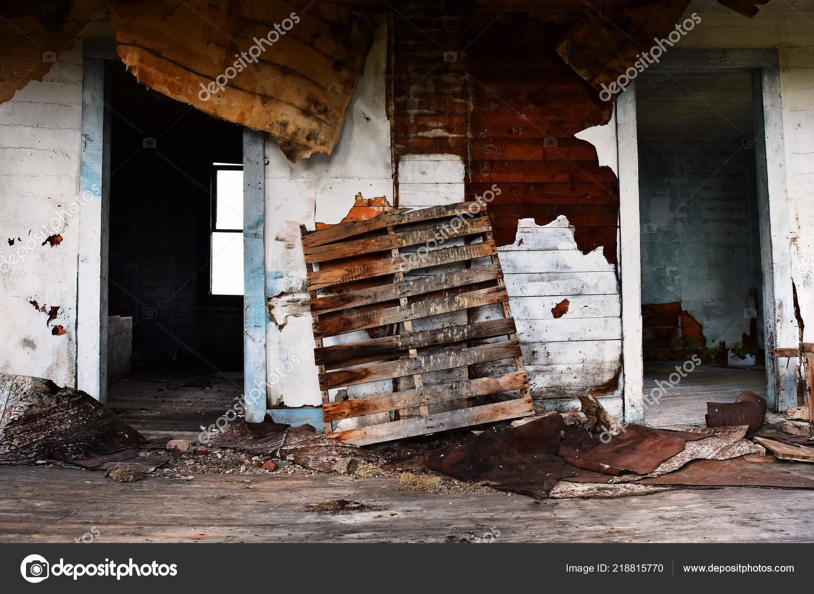 Image Interior Creepy Old Abandoned House Stock Photo C Shutterbug68 218815770