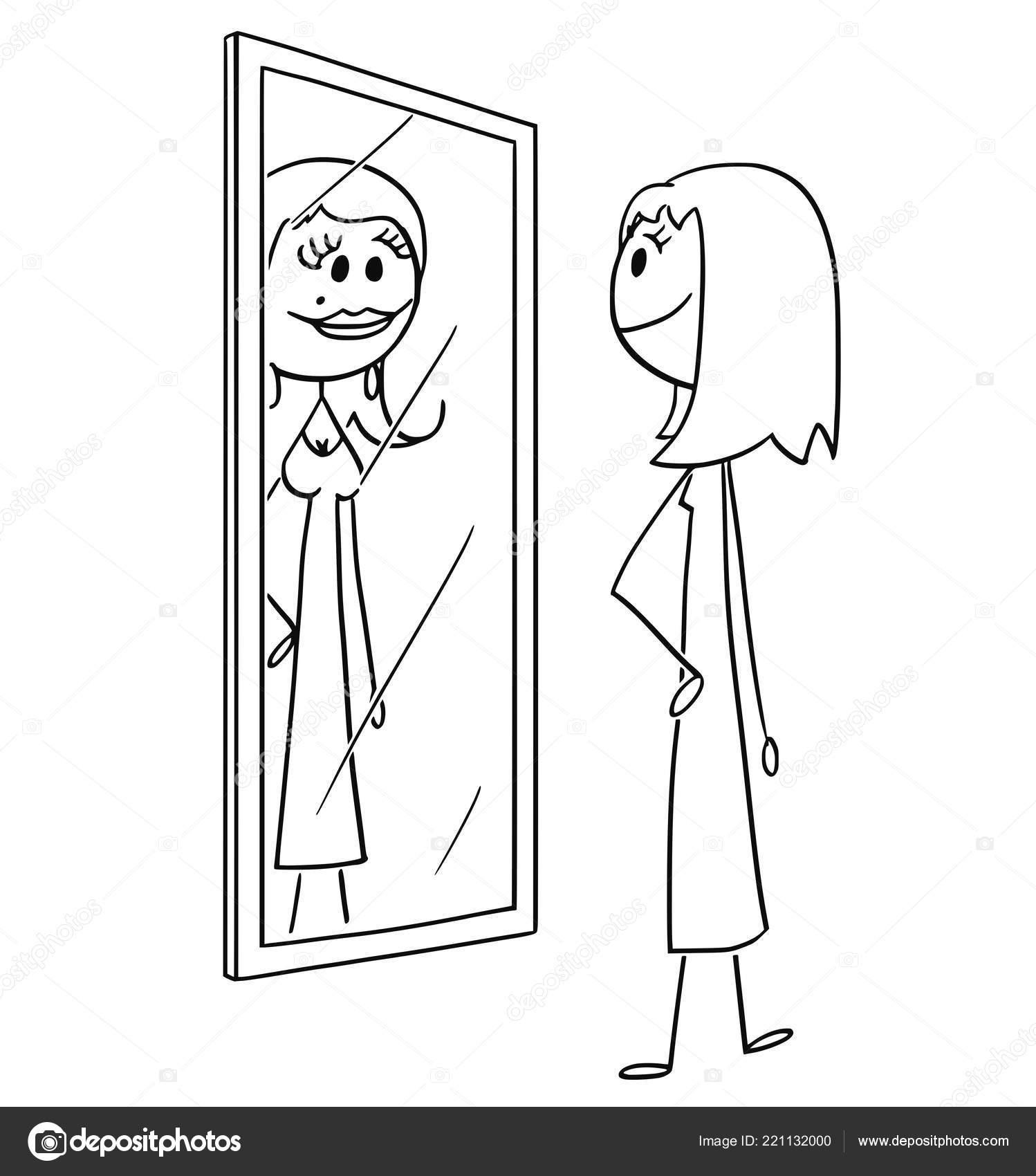 vidět sebe nebo chodit jak říct, jestli vás má víc než připojení