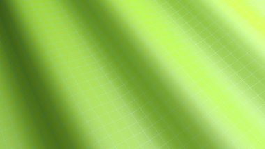A background with a green waving surface - 3D rendering illustration