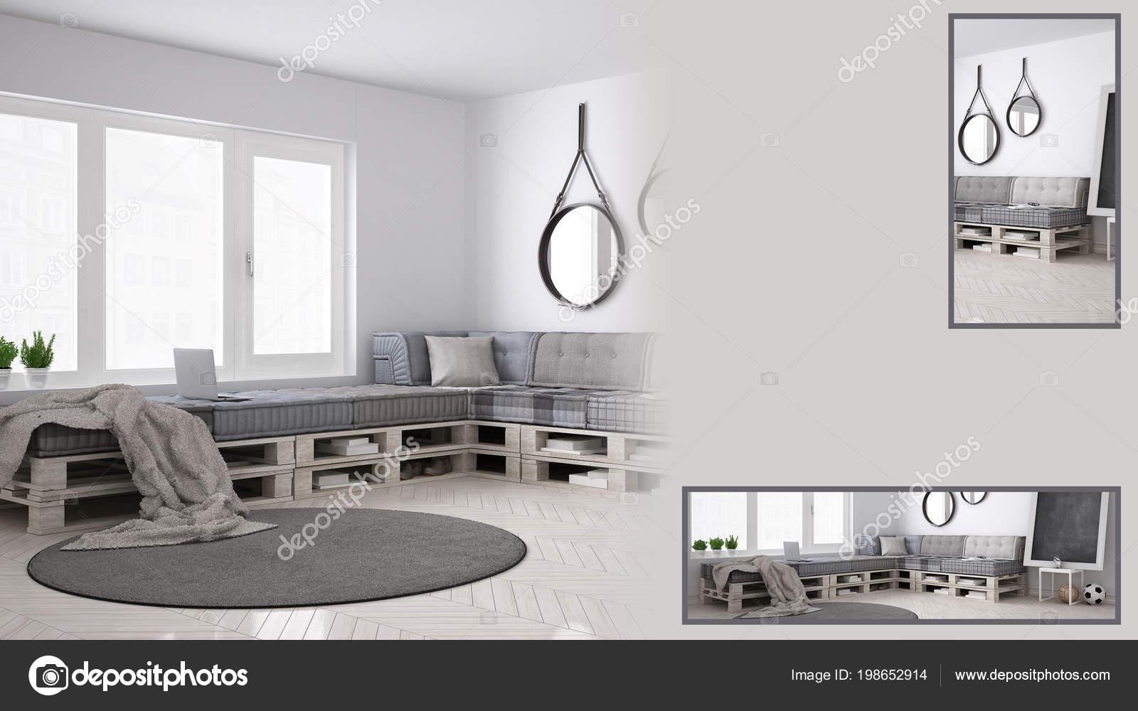 Diy Wohnzimmer Prasentation Mit Kopie Raum Und Details Closeup