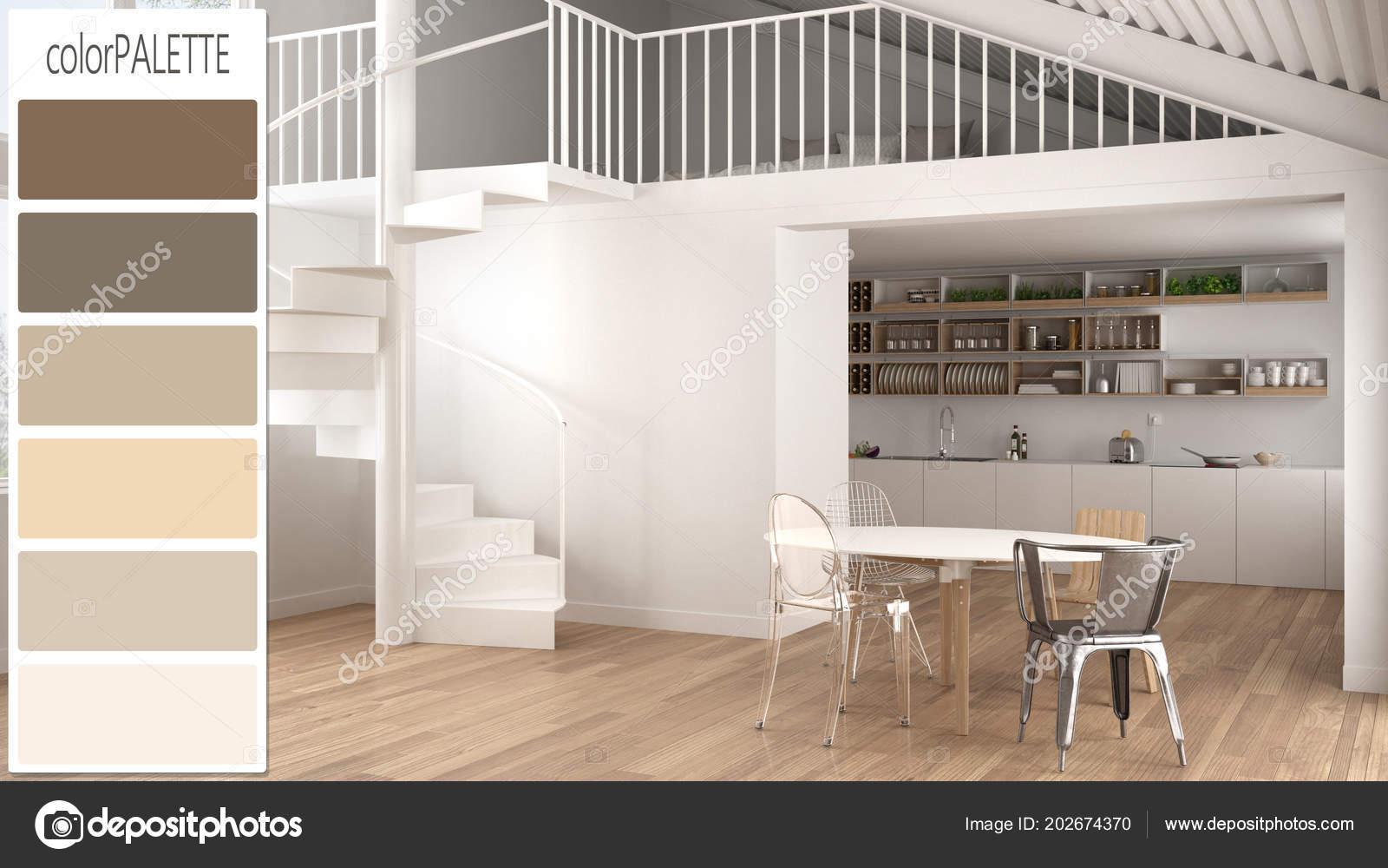 Einrichtungskonzept Architekt Designer Zeitgenössische Weiße Küche ...