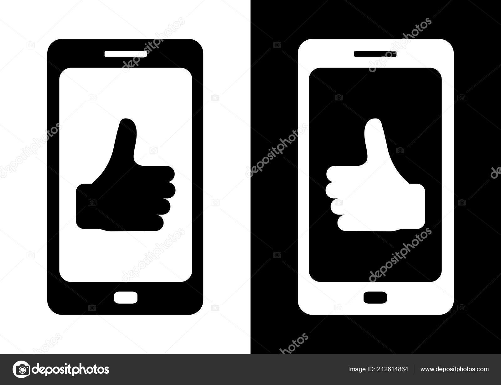 Illustrazione Sfondi Telefono Bianco Telefono Nero Sfondo Bianco