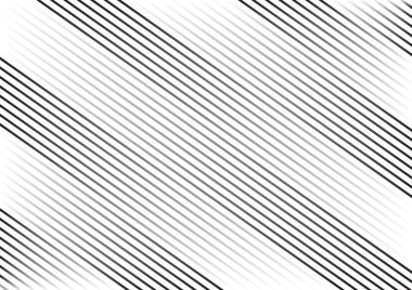 Striped background with black parallel diagonal lines. Vector illustration