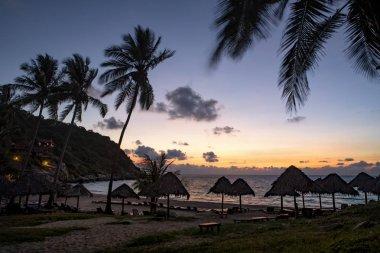 beautiful sun rising sky at koh tao island one of most popular t