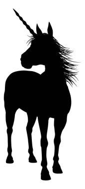 Silhouette Unicorn Graphic