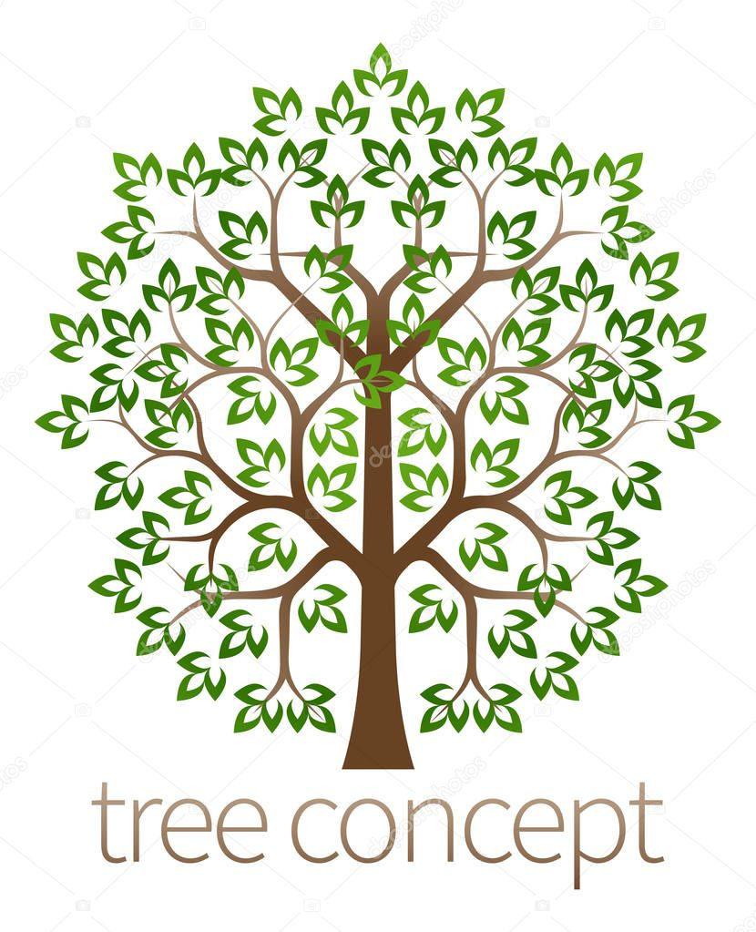 Tree concept Graphic