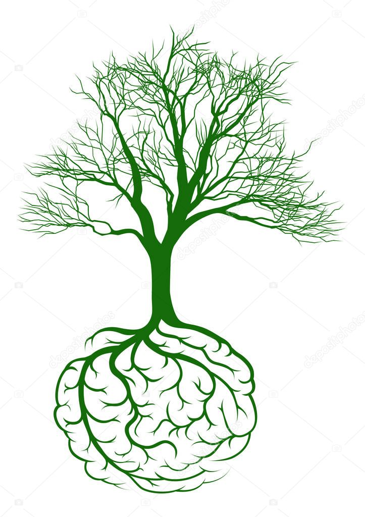 Roots brain graphic