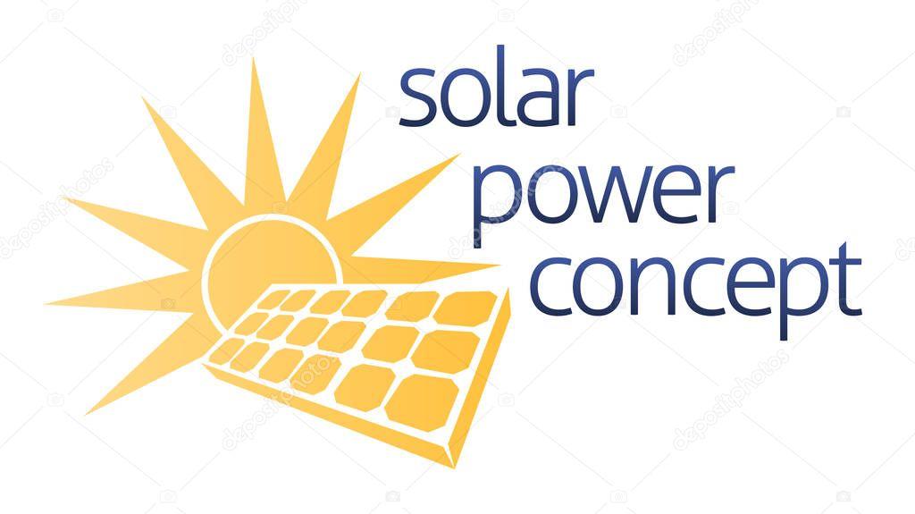 Solar Concept Graphic