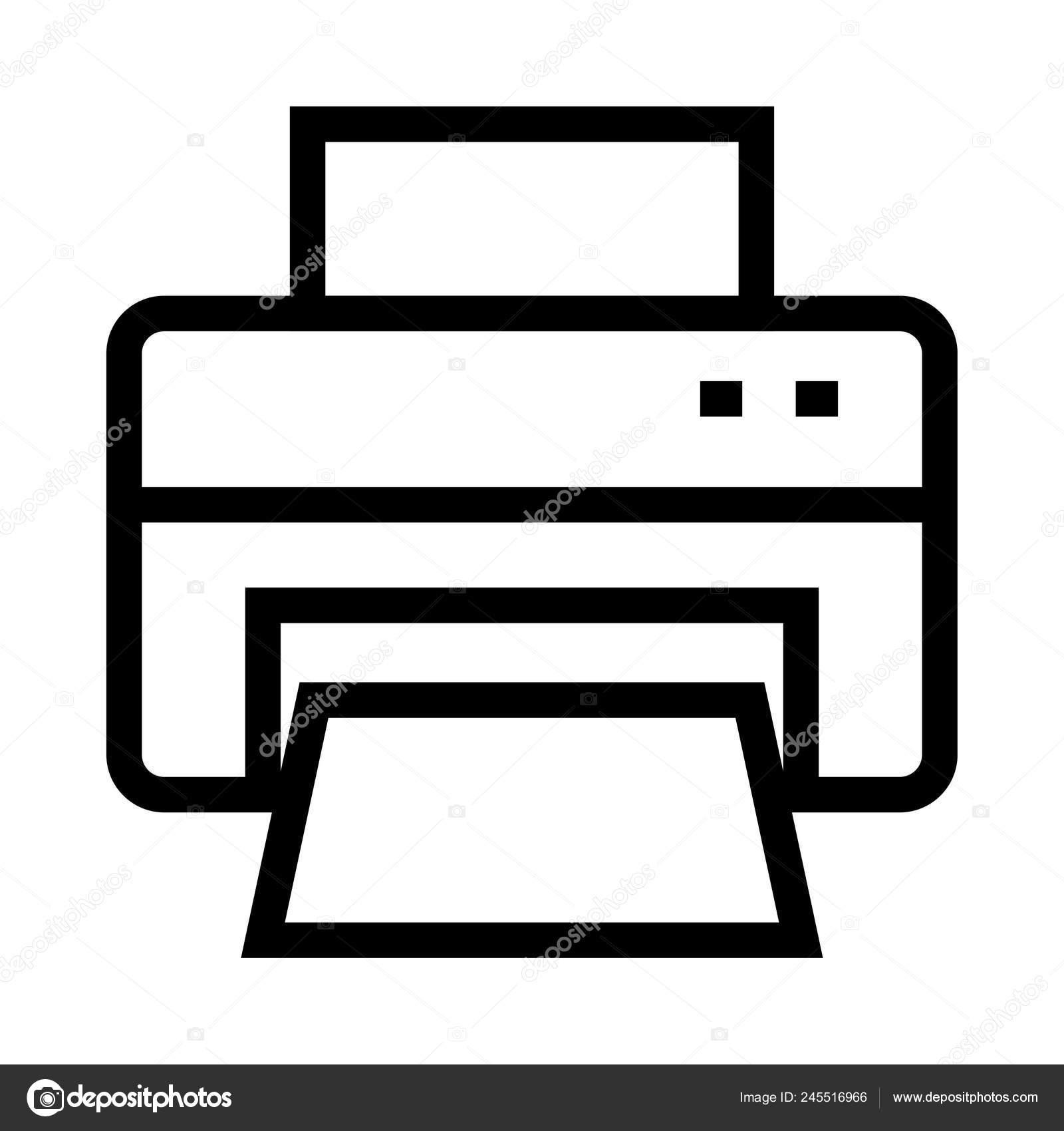 fax vector line icon stock vector c iconscart 245516966 fax vector line icon stock vector c iconscart 245516966