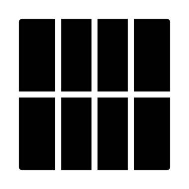 web glyph flat vector icon