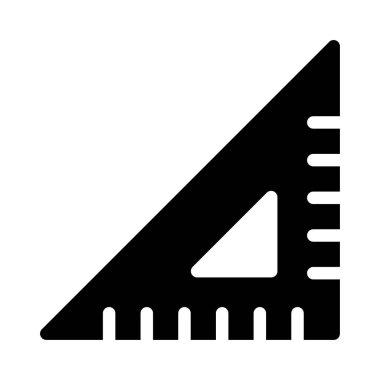 compass  glyph flat icon