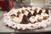 Fotografie Vynikající sladkosti na cukroví bufet