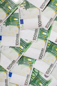 Fotografie Euro Money. Several hundred euro banknotes